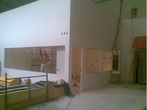 Drywall 90mm na Zona Norte